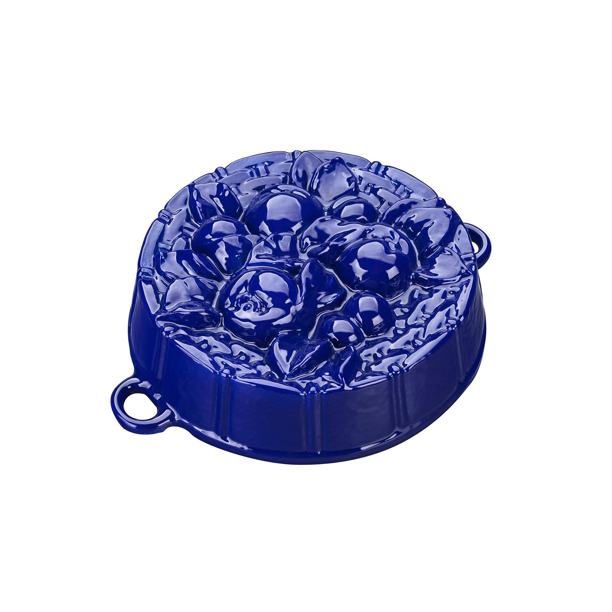 Pečící forma s jablíčky, modrá - Smalt