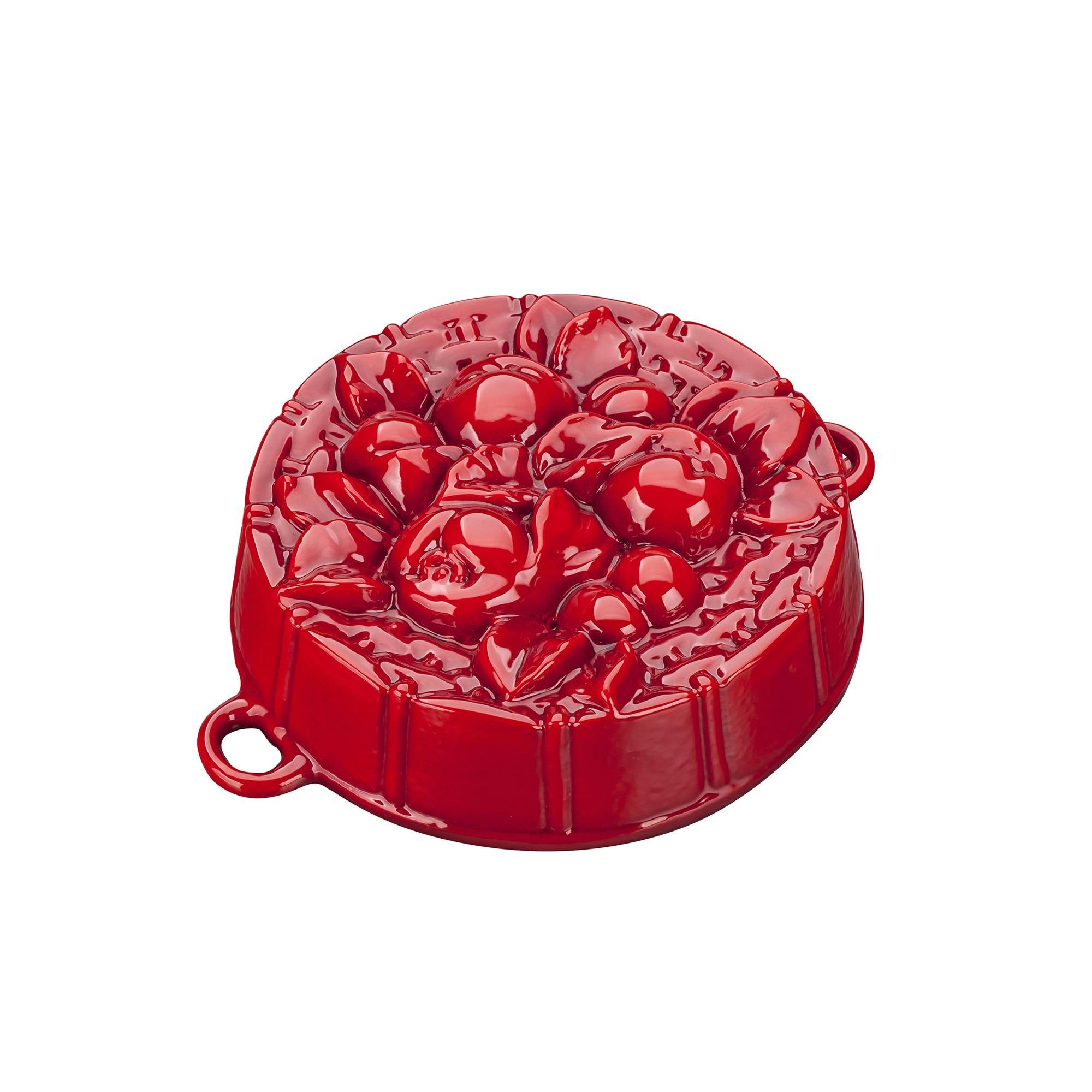 Pečící forma s jablíčky, červená - Smalt