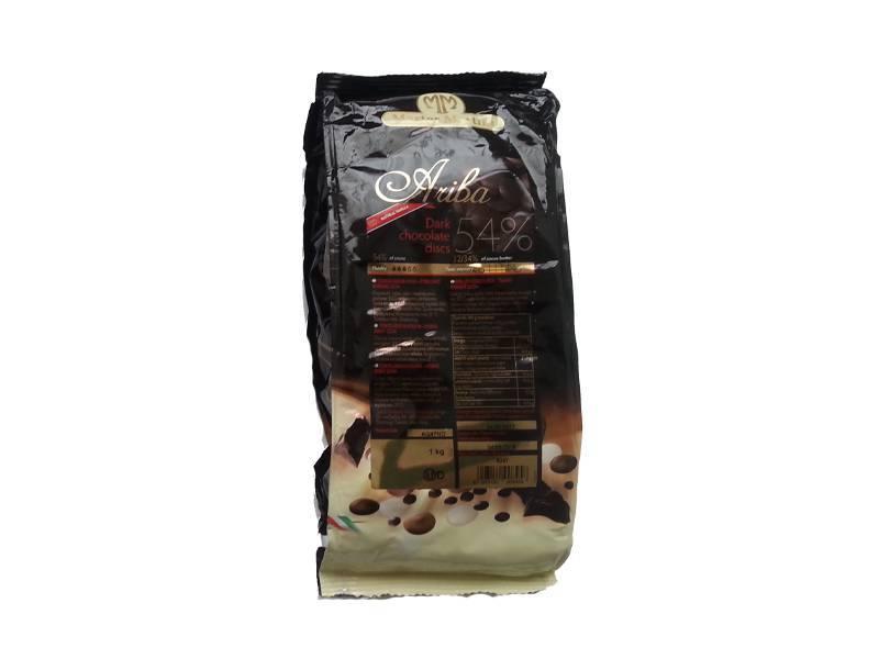 Čokoládová poleva 1kg - hořká 54% - Master Martini