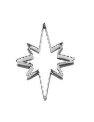Vykrajovátko hvězda 8 cípů 38×50 mm - Smolík