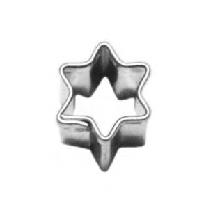 Vykrajovátko mini hvězdička 15x18mm - Smolík