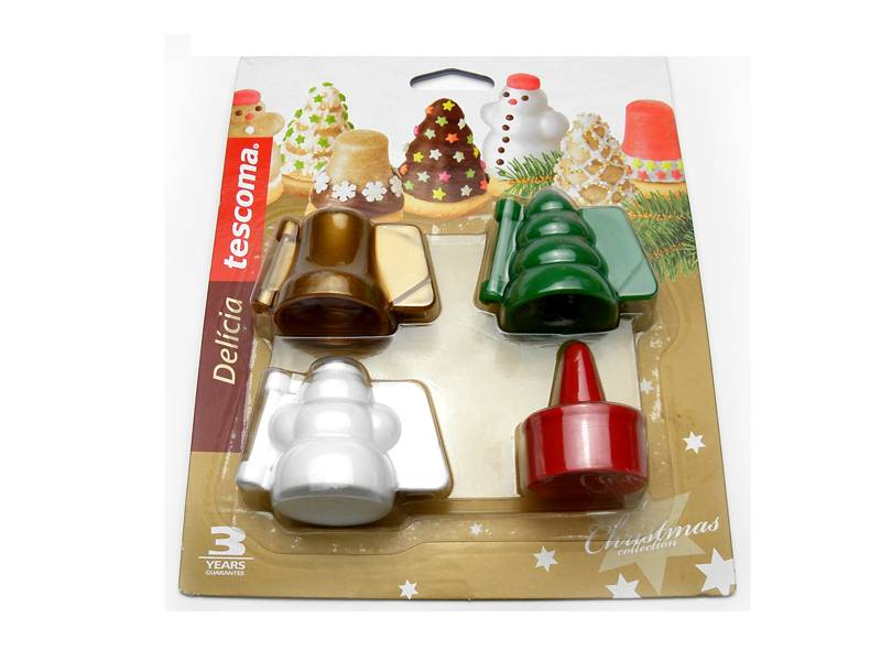 Formičky na plněné cukroví DELÍCIA, 3 vánoční tvary - Tescoma