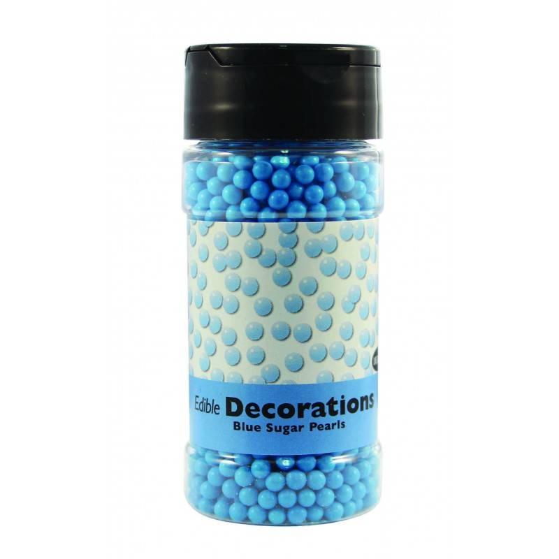 Modré cukrové perličky 100g - PME