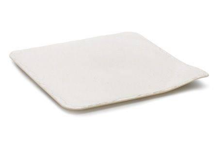 Tác plastový perleťový čtverec 24 x 24 cm -