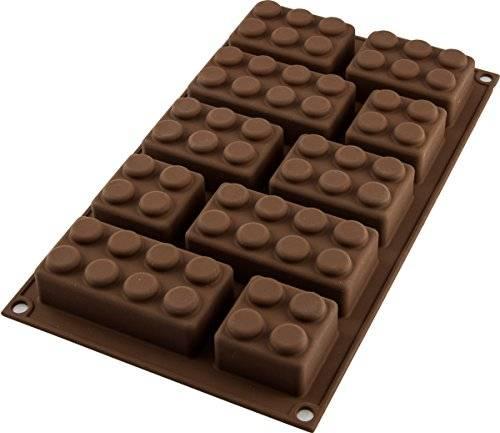 Silikonová forma na pečení lego kostky - Silikomart