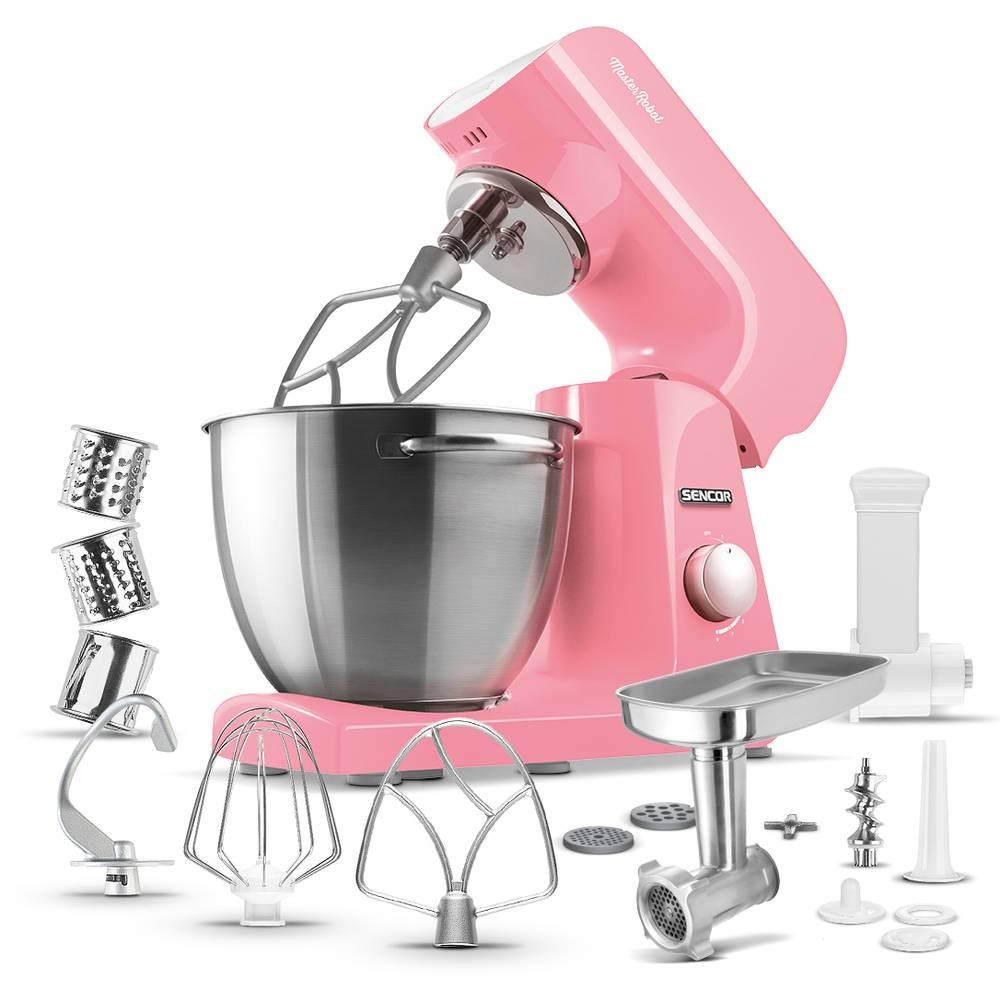 Kuchyňský robot růžový STM 44RD - Sencor