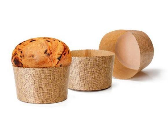 Papírové košíčky na Panettone 5ks na 500g - Ibili