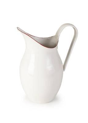 Smaltovaný džbán bílo červený 1,5l - Ibili