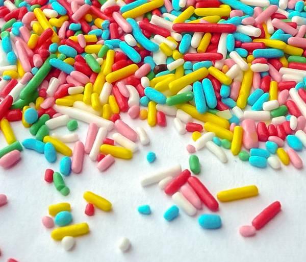 Cukrové tyčinky barevné 50g -