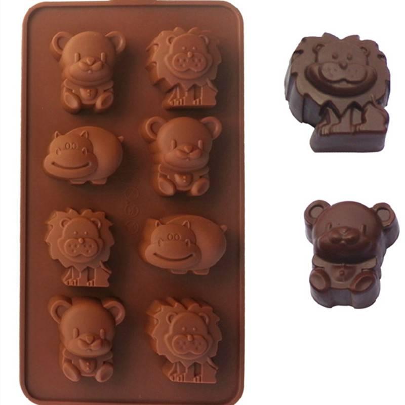 Silikonová forma na čokoládu zvířata - ILA